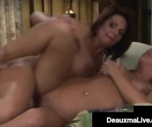 Southern Cougar Deauxma StrapOn Fucks Blonde Milf Girlfriend