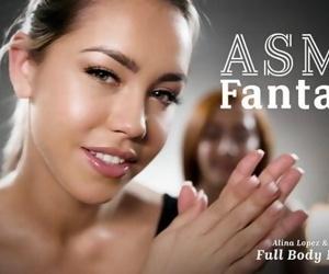 ASMR Roleplay Fantasy- Full Body Lesbian Massage- Alina..