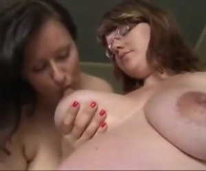 Lesbian sex with pregnant girl big boobs sucking indian..