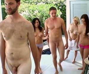 BANGBROS - Angela Attison, Megan Foxx & Kodi Gamble on..