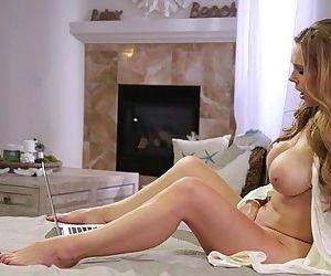 Beautiful dykes Abigail Mac and..