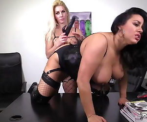 Dani ONeal & Sami J in hot lesbian action show!