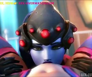 ACTION WITH WIDOWMAKER,OVERWATCH