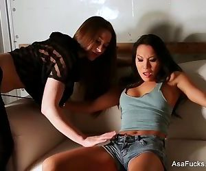 Stockholm syndrome with Asa Akira and Dani Daniels