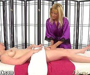 NuruNetwork Jennifer White Lesbian MassageHD