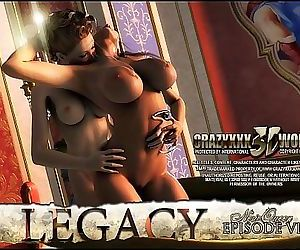 3D Comic: Legacy. Episode 6 4 min HD
