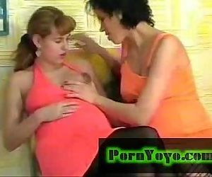 Pregnant Lesbian play.