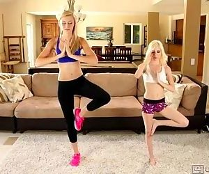 Lesbian sex after fitness lessonAlexa Grace and Piper Perri