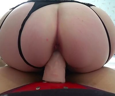 Mother with big tits and daughter with strapon