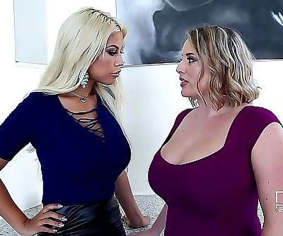 Sapphic ExaminationBusty Babes Play With Their Big Tits 25 min HD+
