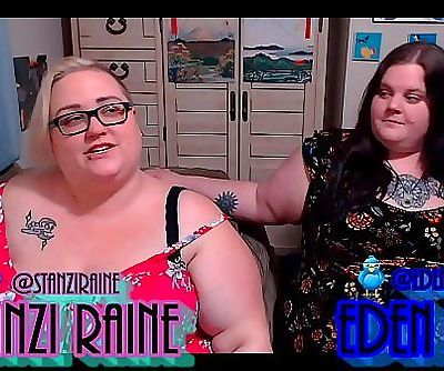 Zo Podcast X Presents The Fat Girls Podcast Hosted By:Eden Dax & Stanzi Raine Episode 2 Pt 1 33 min HD+