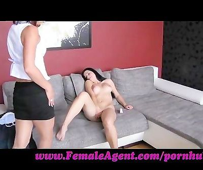 FemaleAgent. Perfvect breasts at 19