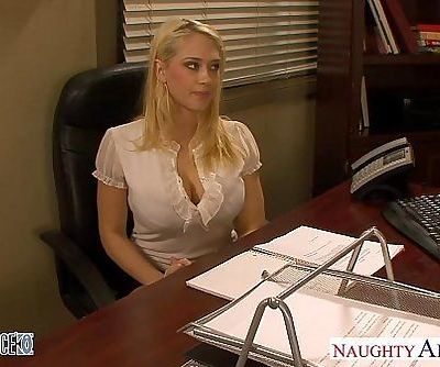 Blondes Kagney Linn Karter and Shawna Lenee fucking in the officeHD