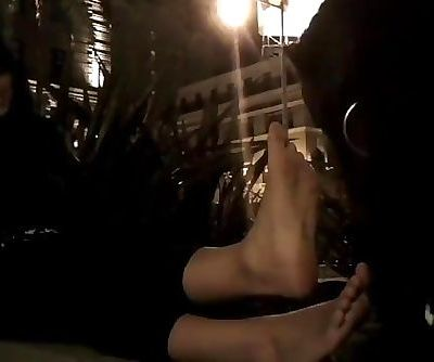 Indian Girl Feet - Lesbian Foot Domination - Foot Slave Public Humiliation!