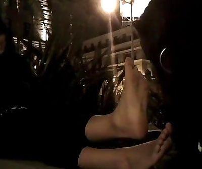 Indian Girl Feet - Lesbian Foot Domination - Foot Slave Public Humiliation!
