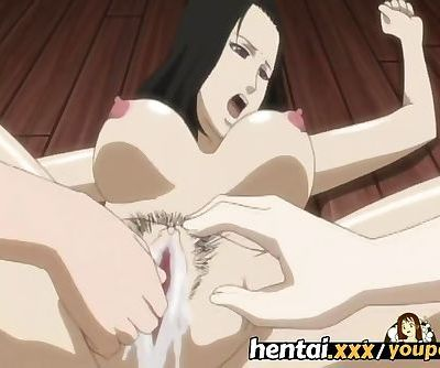 From scissoring to double penetration - Mitama 2 - Hentai.xxx