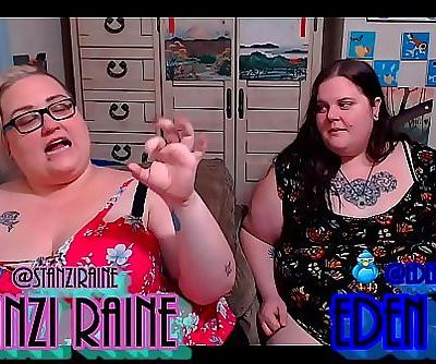 Zo Podcast X Presents The Fat Girls Podcast Hosted By:Eden Dax & Stanzi Raine Episode 2 pt 2 42 min HD+