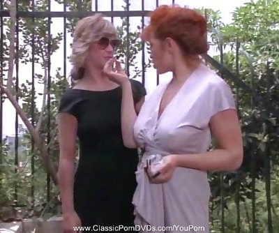 Kinky Retro Vintage Lesbian Action