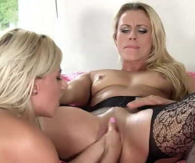 Brittany Bardot and Nathaly - Purple monster