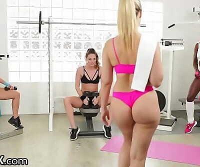 Tori Black Ana Foxxx Annika Albrite Jenna Sativa & Abigail MacHOT! 9 min 1080p