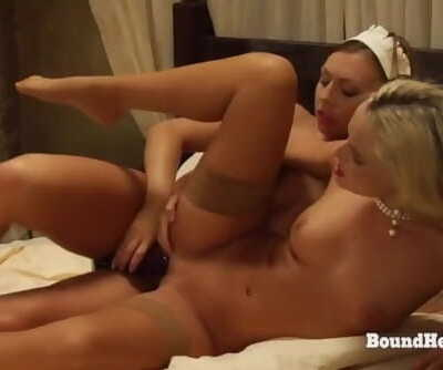The Education of Erica: Lesbian Maid Uses Strapon On Horny Mistress