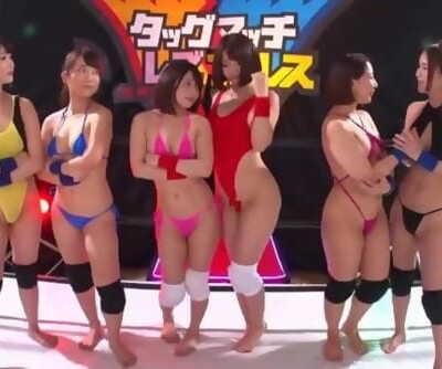 japanese lesbian wrestling