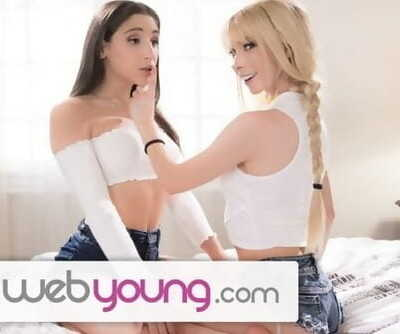 WebYoung Abella Danger makes College BFFs Clit Quiver