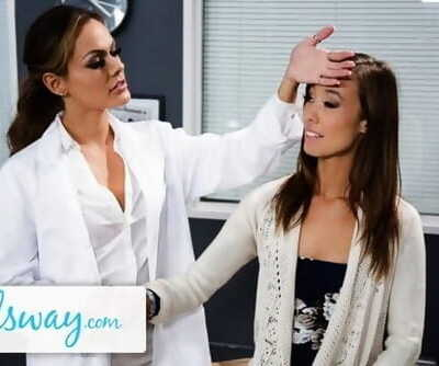 Girlsway Hot Teacher Gets Checked up by the Schools Doctor