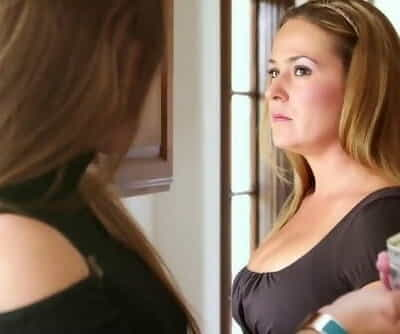 Lesbian Step Daughter Dani Daniels Lusting for her Gorgeous Step Mom