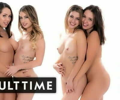 ADULT TIME Kristen Scott & Jenna Sativa -real, Passionate Lesbian Sex