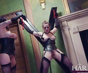 HarmonyVision Samantha Bentley huge cock anal threesome