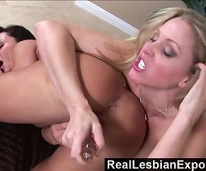 RealLesbianExposed - Who Licks Better Pussy - Lisa Ann or Julia Ann