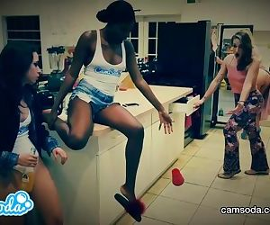 camsoda latina lesbian teen college girls doing their version of mannequin