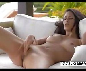 Cam girl masturbate and squirt - 3 min