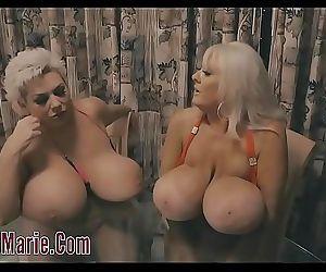 Claudia Marie Lesbian Sex With Kayla Kleevage 3 min HD