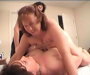 Two Lesbians Fuck Redhead Dawn With A Strapon Dildo Til She Cums Multiple Times 34 min