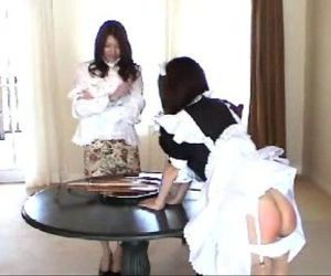 043 Maid and Madame - Spanking - 5 min