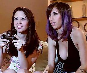 Eva Sedona and April ONeil Lesbian FunHD