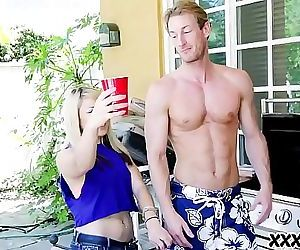 Summertime BBQ And Big Cocks 8 min HD