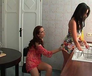 Seduced by Two Lesbian MilfsViv Thomas HDHD