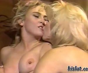 These blondes love sex