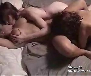 CJgroup amateur lesbian threesomepart 3