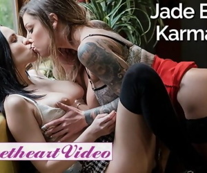 Free Premium Video SweetHeart - Secretary Jade Baker will do anything for inked boss Karma RX