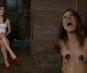 Kristina Rose and Gia DiMarco Rough Lesbian BDSM