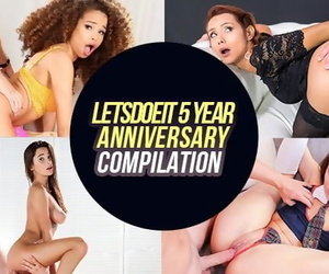 LETSDOEIT - the Hottest Girls in Porn - BEST PREMIUM MOMENTS - Huge 5 Year Anniversary Compilation