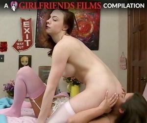 Lesbian Facesitting Compilation - GirlfriendsFilms