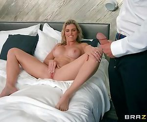 Cory Chase cheats and gets her..
