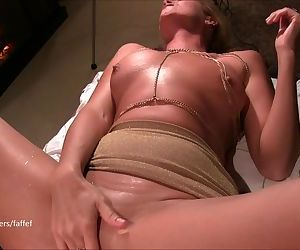 Beautiful MILF squirts all over..
