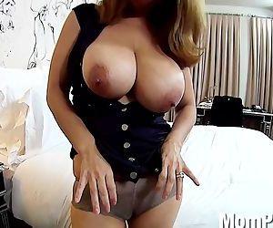 Latina milf huge natural tits..