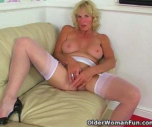 British milf Molly is sexy and..